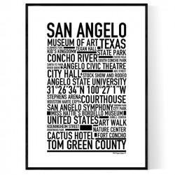 San Angelo Poster
