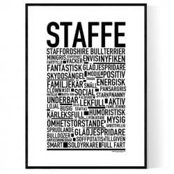 Staffe Poster