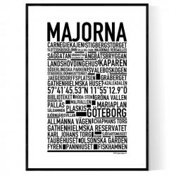 Majorna Poster