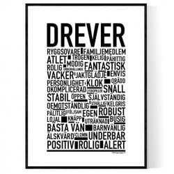 Drever Poster