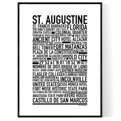 St. Augustine Poster