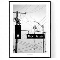 Abbot Kinney Sign Poster