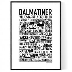 Dalmatiner Poster