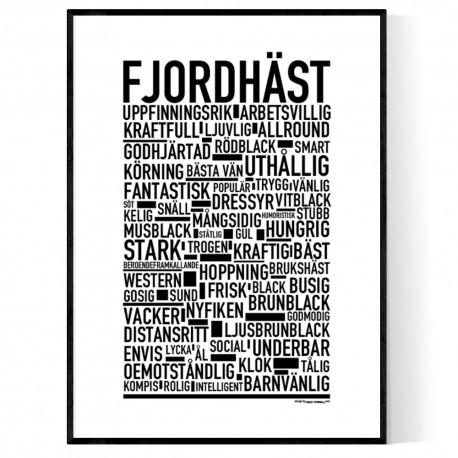 Fjordhäst Poster