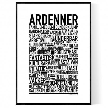 Ardenner Poster