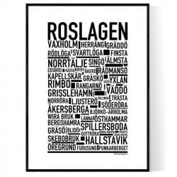 Roslagen Poster