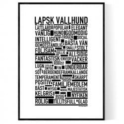 Lapsk Vallhund Poster