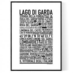Lago Di Gardo Poster