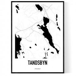 Tandsbyn Karta Poster