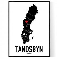 Tandsbyn Heart Poster
