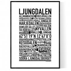 Ljungdalen Poster