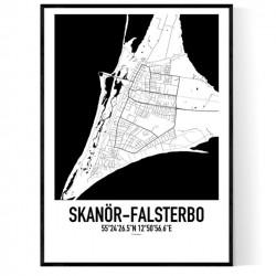 Skanör-Falsterbo 2 Karta