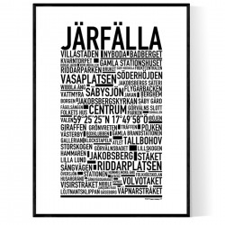 Järfälla Poster
