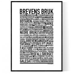 Brevens Bruk Poster