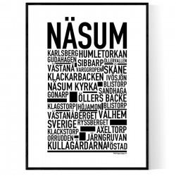 Näsum Poster