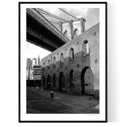 Behind Brooklyn Bridge
