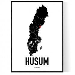 Husum Heart Poster