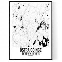 Östra Göinge Karta