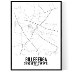 Billeberga Karta