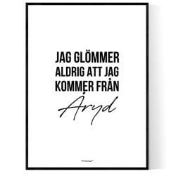 Från Åryd