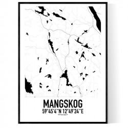 Mangskog Karta