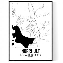 Norrhult Karta