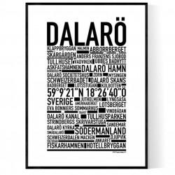 Dalarö Poster