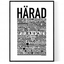 Härad Poster
