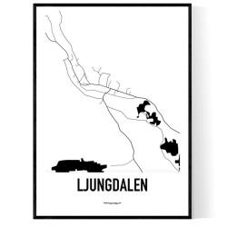 Ljungdalen Karta