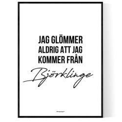 Från Björklinge