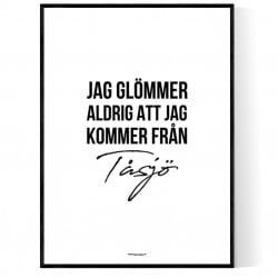 Från Tåsjö