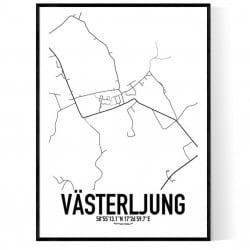 Västerljung Karta
