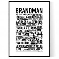 Brandman Poster