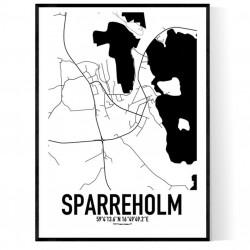 Sparreholm Karta