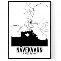 Nävekvarn Karta