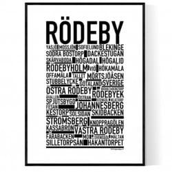 Rödeby Poster