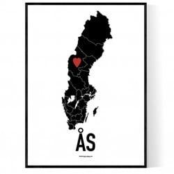 Ås Heart Poster