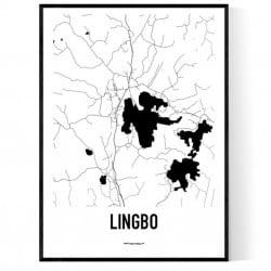 Lingbo Karta Poster
