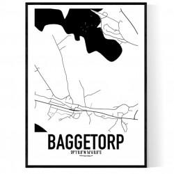 Baggetorp Karta Poster