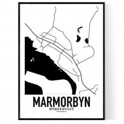 Marmorbyn Karta