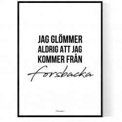 Från Forsbacka