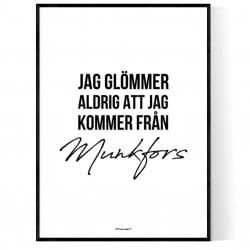 Från Munkfors