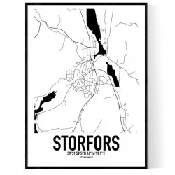 Storfors Karta