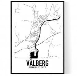 Vålberg Karta