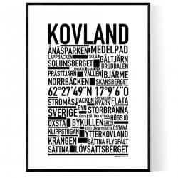 Kovland Poster