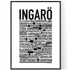 Ingarö Poster