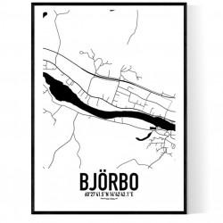 Björbo Karta