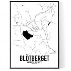 Blötberget Karta Poster