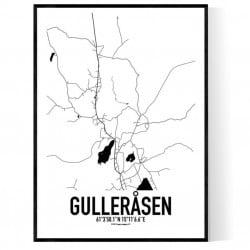 Gulleråsen Karta Poster