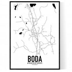 Boda Karta Poster